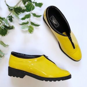 Rainsports Vtg Yellow Shortie Rain Shoes Kill Bill